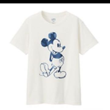 Uniqlo Mickey Blue 米奇 UT