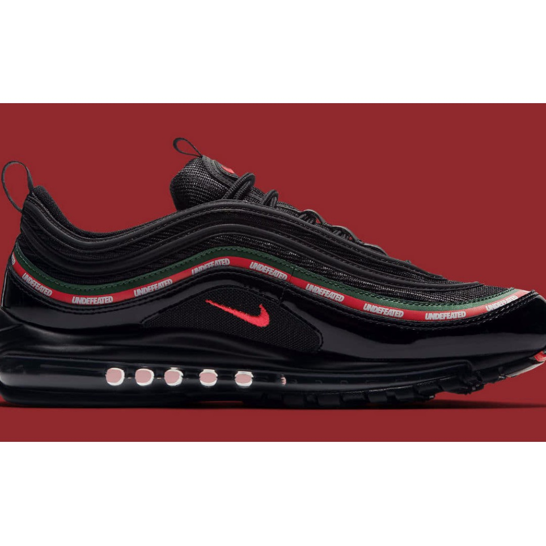 cd3d82fef2c2 US 9 Undefeated Nike Airmax air max 97 undftd Black