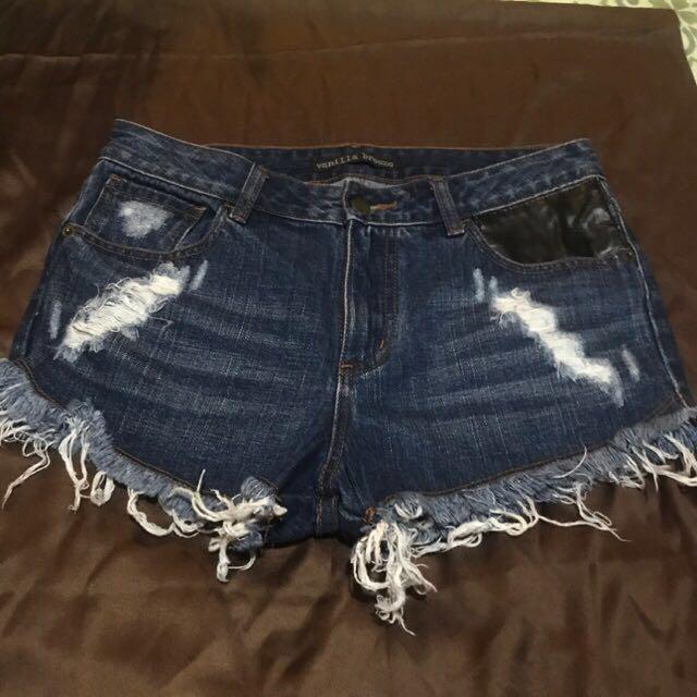 Vanilla breeze shorts