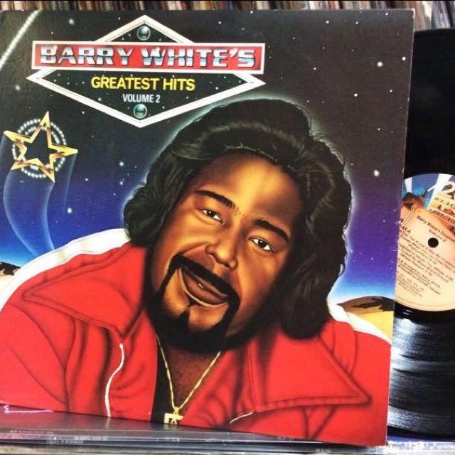 "VINYL - Barry White ""Barry White's Greatest Hits Volume 2"" (1981)"