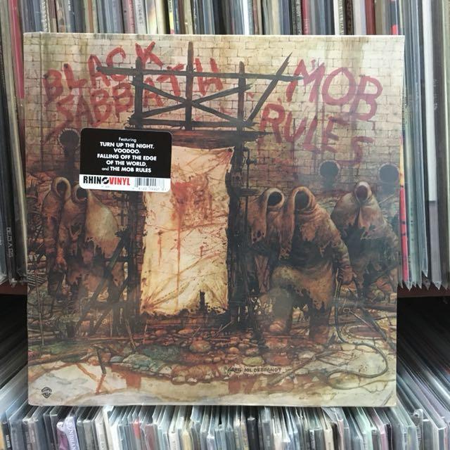 VINYL - Black Sabbath MOB RULES (1981)