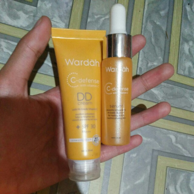 Wardah C-defense Sepaket