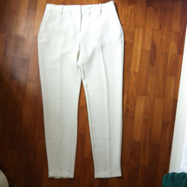 White Mango Suit Pants/Trousers