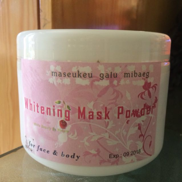 Whitening Mask Powder