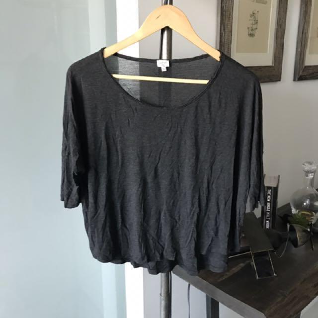 Wilfred Grey Cotton Tshirt