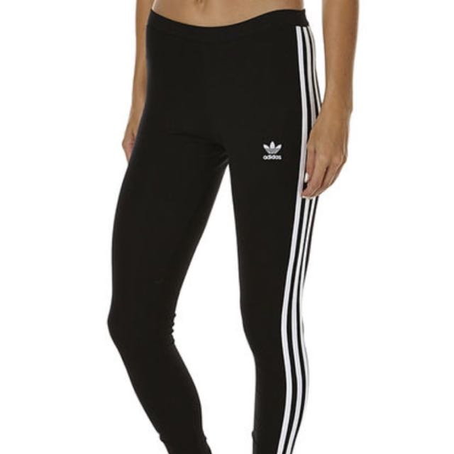Women's adidas original 3 stripe leggings