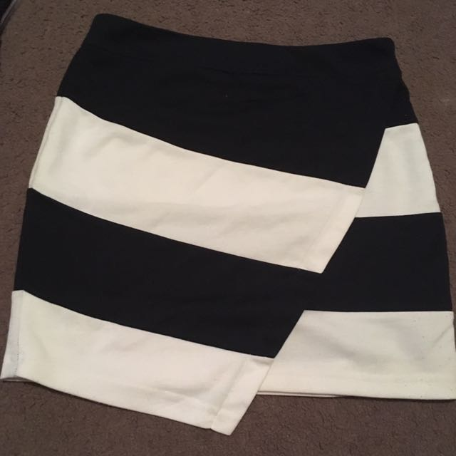 Women's size small stripe skirt