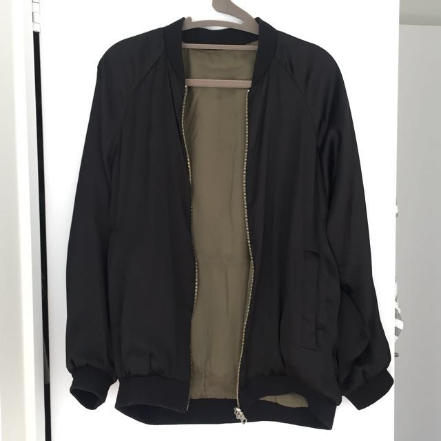 Zara Reversible Bomber Jacket