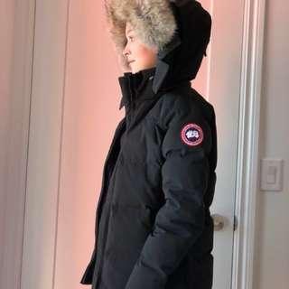 Canada Goose Women Chelsea Parka Black Small