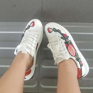 Included Postage Gucci Inspired Sneakers
