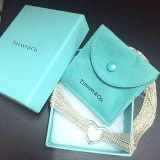 Tiffany 流蘇心型項錬