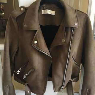 Zara Jacket - Suede