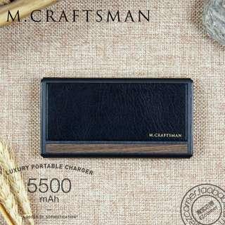 M.Craftsman Slim Power Bank