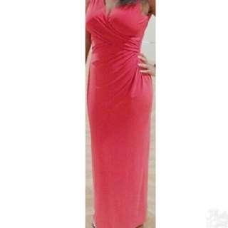 Ralph Lauren Long Red Gown