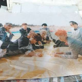 Bts young forever mouse pad