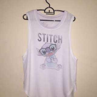 Stitch Oversized Tank Top