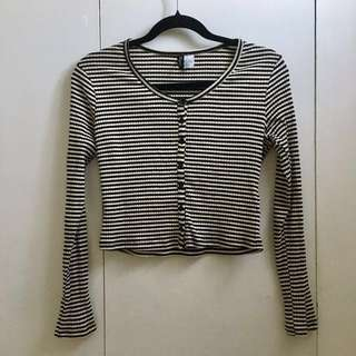 Button-down long sleeve size S