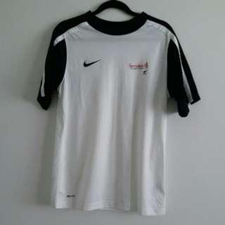Nike NZ football dri fit top