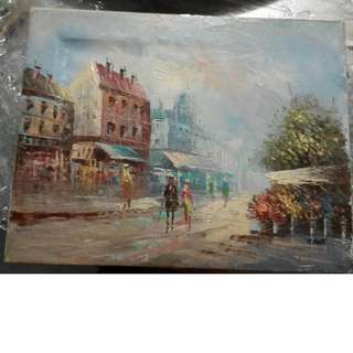 OLD DOWNTOWN Painting