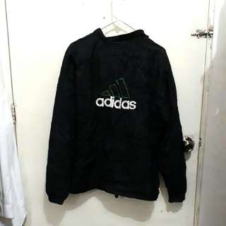 Heavily Embroidered Authentic Adidas Windbreaker Jacket
