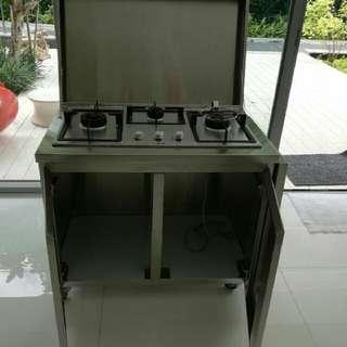 Modular Stainless Steel Kitchen