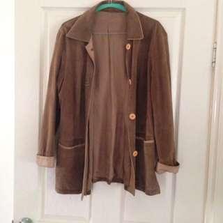 Vintage suede jacket
