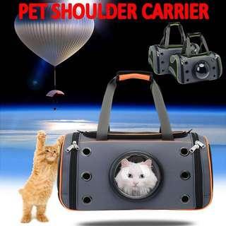 TPE046 Fashion Pet Shoulder Carrier Space Dogs Cats