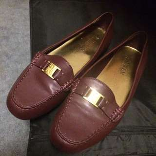 Ralph Lauren Maroon Loafers