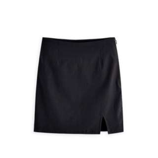 ($100/3件)藝人范范品牌 Genquo 半身黑色裙