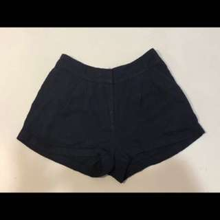 Navy Blue Dotti Shorts