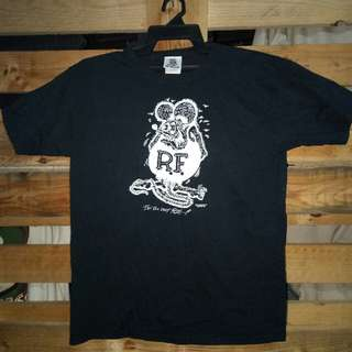 Rat Fink t shirt by mooneyes