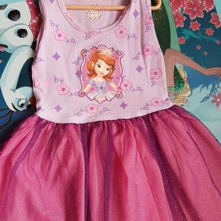 Tutu Dress: Sofia the First / Strawberry Shortcake