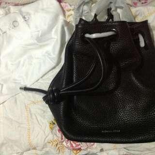 *Super super SALE* Michael Kors Dalia Large Leather Backpack In Black