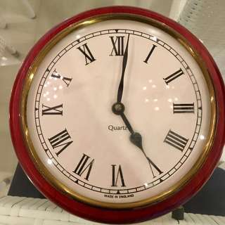 Vintage Wall Clock MADE IN ENGLAND