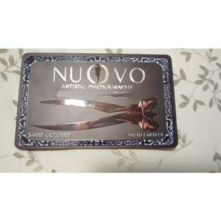 $400 gift card: Nuovo artistic photography