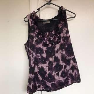 Jacqui E blouse size 10