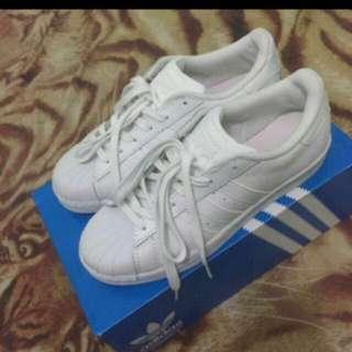 Adidas Superstar All White