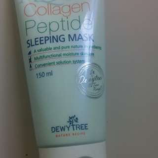 dewytree aqua collagen sleeping mask