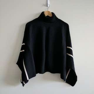 Country Road Roll Neck cape