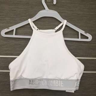 Abercrombie and Fitch High neck sports bra size XS