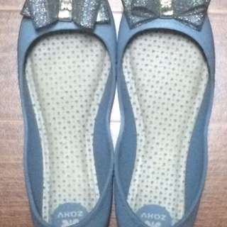 AUTHENTIC POWDERED BLUE ZAXY SHOES