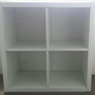 ikea cube white storage