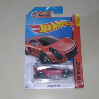 Hotwheels hw race mastretta mxr