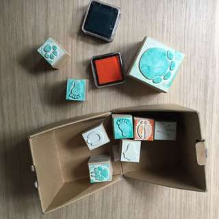 Wood Rubber Stamps