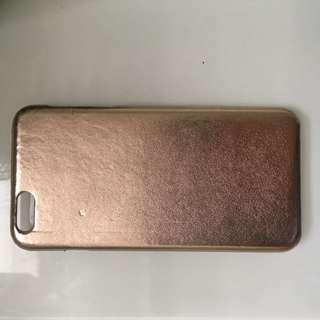 iPhone 6 plus case gold foil