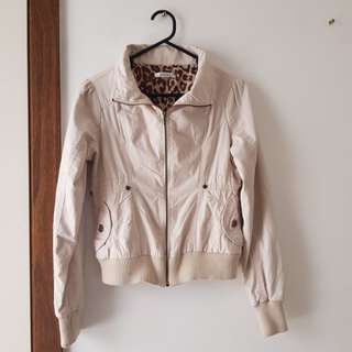 VALLEYGIRL Cream Jacket