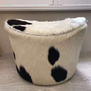 IKEA真牛皮旋轉椅