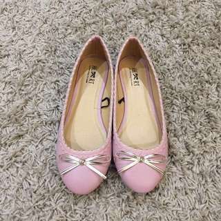 Pink Flats From lil Things She Needs