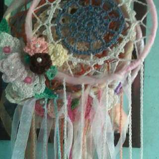 Dream Catcher Crochet Souvenir