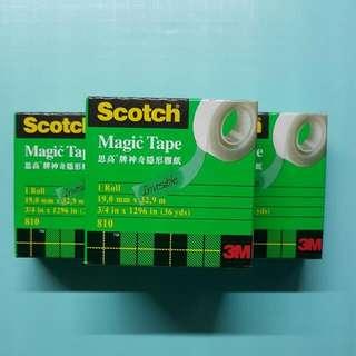 3M Scotch 神奇隱形膠紙
